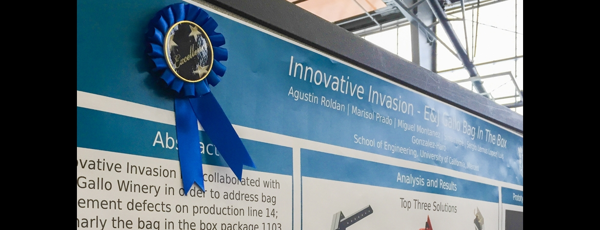 UC Merced's Innovate to Grow poster competition